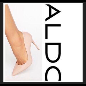 Aldo stessy nude point pumps